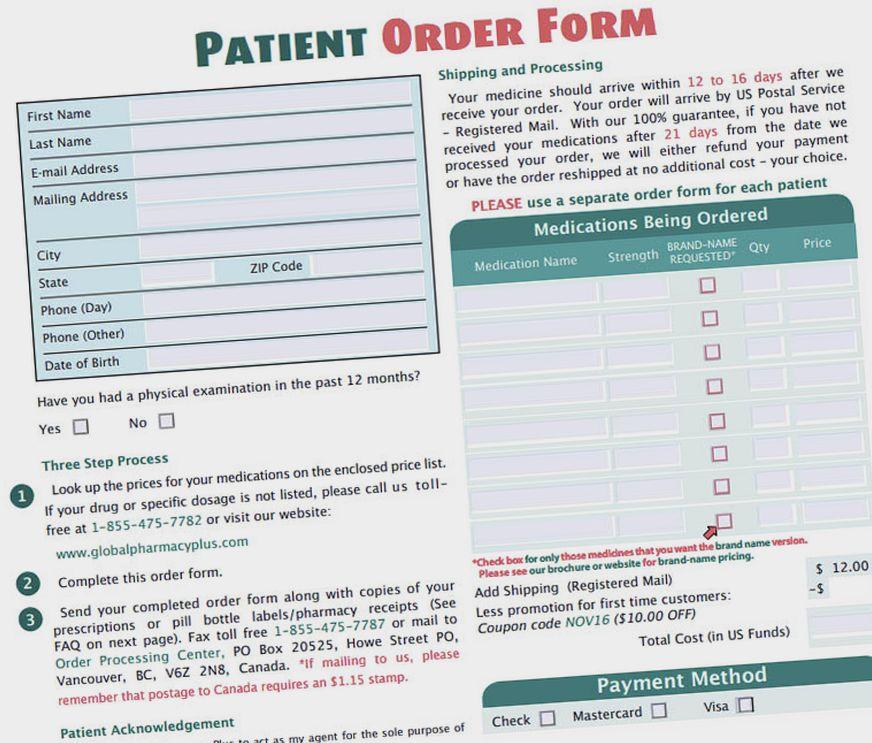 global pharmacy plus coupon code